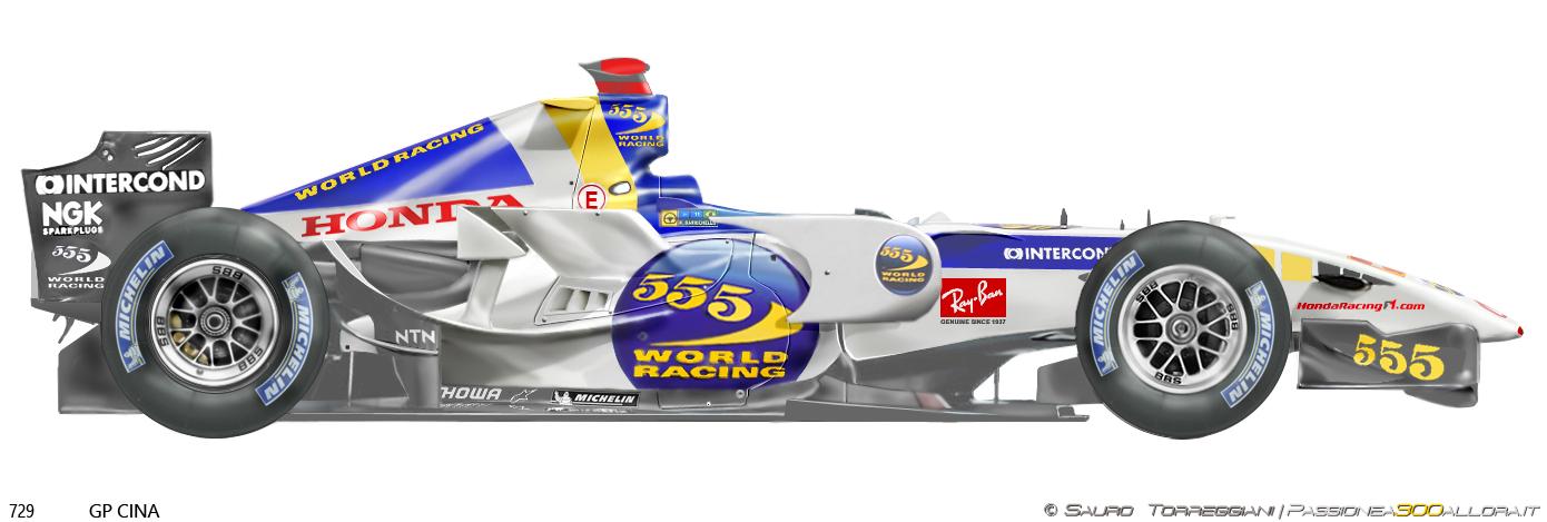 Honda RA106 2006 China